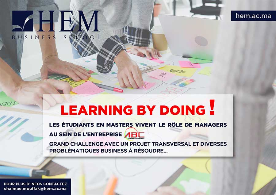 "Projet transversal ""Learning by doing"""