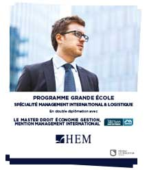 Management International & Logistique - HEM Business School - Grande Ecole, Ecole de Gestion et de Management au Maroc