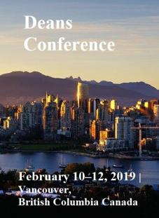 2019 Vancouver AACSB International - Deans Conference,HEM Business School, Février 2019