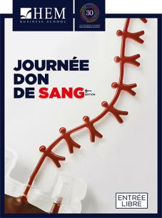 Journée Don de Sang - HEM Fès, HEM Business School, Octobre 2018