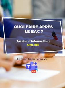 Session d'informations en ligne, HEM, Mai 2020