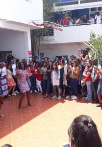 Danse Africaine - Journée culturelle internationale - Etudiants de HEM Casablanca