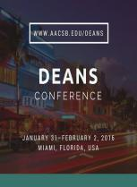 AACSB's Dean Conference 2016 - Groupe HEM - Janvier 2016