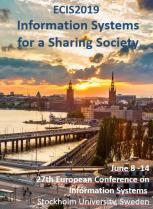 ECIS 2019 - Information Systems for a Sharing Society, HEM Business School, Juin 2019