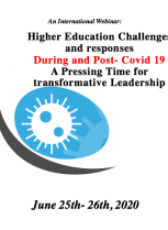 Higher Education Challenges and responses During and Post-Covid 19