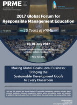 Forum mondial de l'Education du Management Responsable 2017, HEM Business School, Juillet 2017