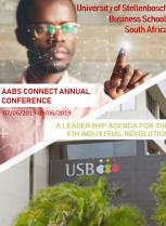 2019 AABS Connect Annual Conference :  A Leadership agenda for the 4th Industrial Revolution, HEM Business School, Juin 2019