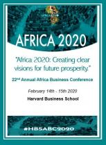 Harvard BS Africa Business Conference 2020, HEM, Février 2020