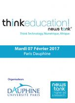 "Conférence ""Think Education"" - Paris Dauphine, HEM Business School, Février 2017"