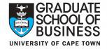 University of Cape Town Graduate School of Business
