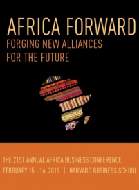 2019 Harvard BS 21st Annual Africa Business Conference, HEM Business School,Février 2019
