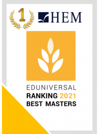 Eduniversal 2021 Best Masters ranked HEM Master programs at the top and amongst the best in Morocco and Africa!