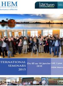 Semaine Internationale 2015 - HEM Business School
