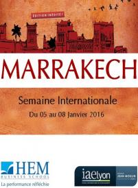 Semaine Internationale 2016 - HEM Business School - Janvier 2016