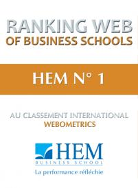 HEM N° 1 au Classement international Webometrics