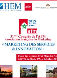 31ème congrès de l'Association Française Marketing - AFM 2015