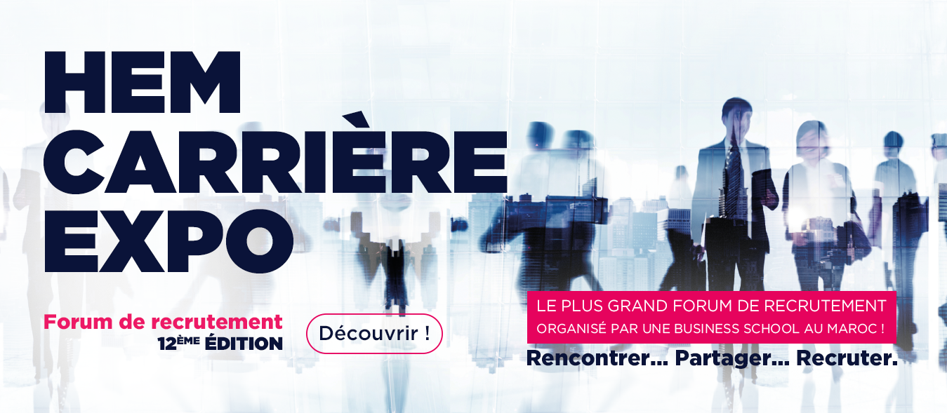 HEM Carrière Expo 2018, HEM Business School, Novembre 2018