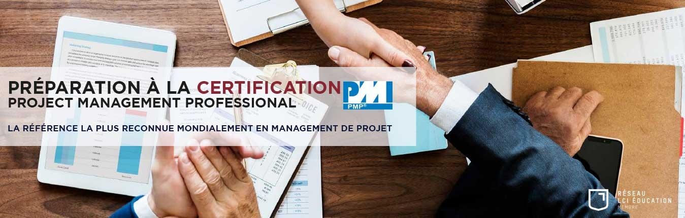 Certification Project Management Professional - PMP®